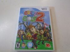 Wii Crazy Mini Golf Two 2 Game 72 Crazy Holes 4 Courses