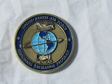 US Air Force Personnel Exchange Program Americas Challenge Coin