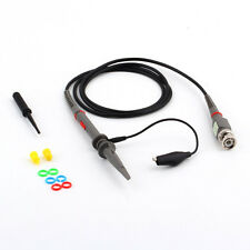 P6100 100MHz Oscilloscope Probes Electrical Test Lead Cable For Tektronix HP FT