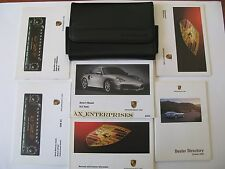 03 2003 Porsche (996) 911 Turbo 6 Speed Tip S Owners Manuals Book Set Pouch A221