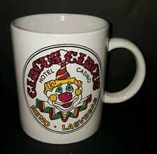 Circus Circus Hotel Casino Creepy Clown Reno Las Vegas NV Coffee Mug Cup 12 Oz
