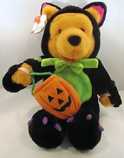 Winnie the Pooh Disney Store Halloween Plush Scardey Cat Costume Trick or Treat
