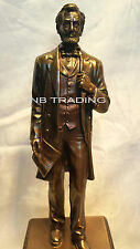 NEW Abraham LINCOLN On The Pedes Statue Sculpture Figurine FAST SHIPPING