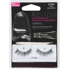 REVLON FALSE EYE LASH EYELASHES EYELASH STARTER KIT LONG VOLUMIZING 91263