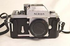 Nikon F Photomic TN SLR Film Camera Body vintage 35mm film SLR (minor defect)