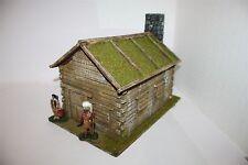 Old West, Cowboy, Blockhaus, 1641 zu 7cm, Wild West u.a., GMKT World of Diorama