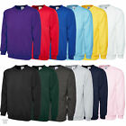 Plain Classic Sweatshirt Sweater Jumper Top - Casual Work Leisure Sport UC203