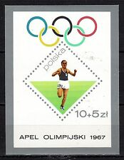 Poland - 1967 Olympic games - Mi. Bl. 40 MNH
