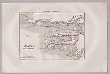 Bantry, Irland, Eire. Karte der Bantry Bay. Stich, Kupferstich von Rambox 1835