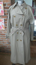 Vintage Classic Burberry Trench Coat, Double Breasted, std lining