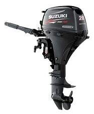 "Suzuki 20hp DF20AES Outboard, EFI, 4-stroke, 15"" Shaft - Electric - Tiller"