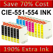 15 INK CARTRIDGES FOR Epson Stylus R240 R245 RX420 RX425 RX520