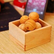 Natural Cedar Wood Moth Balls Lavender Camphor Repellent Wardrobe Drawer UDy5