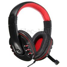 3.5mm Audio Stéréo Casque Ecouteur Gaming Headset Micro Pr PC Laptop Skype Film