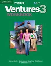 Ventures Level 3 Workbook With CD (Audio)] 2nd Edition (the Latest)
