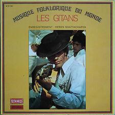 LES GITANS MUSIQUE FOLKLORIQUE DU MONDE  33T LP