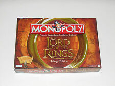 Parker Brothers 2003 MONOPOLY The Lord Of The Rings Trilogy Edition Game LOTR