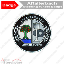 Mercedes Affalterbach AMG Steering Wheel Badge Emblem [Colour]