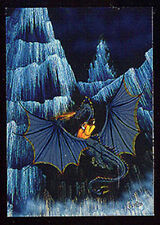 JANNY WURTS - Metallic Storm Chase Card M3 - Dragon Flight