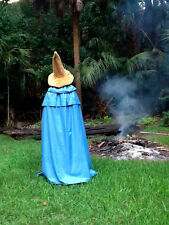 Final Fantasy Black Mage ViVi Costume Cosplay Cape Wizard