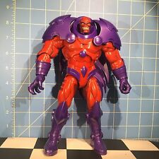 "Onslaught Red Skull Marvel Legends BAF Complete 9"" W Alternate Magneto Head"