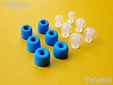 12pcs (BLMF-COMH-A) Memory Foam / Isolate Tips for Etymotic Electronic Earplugs