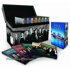 New Law & and Order: The Complete Series DVD 104-Disc Set (2011) Seasons 1-20