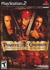 Pirates of the Caribbean Legend Jack Sparrow (Sony PlayStation 2, 2006) Complete
