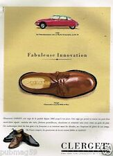 Publicité advertising 1991 Les Chausures Mocassins Clerget
