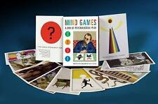 $24.95 Mind Games A Box of Psychological Play Paperback Card Set Abstract Images