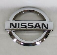 NISSAN ALTIMA TRUNK EMBLEM 02-06 BACK OEM CHROME BADGE logo sign symbol name