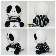 "The Nightmare Before Christmas Jack Skellington Stuffed Doll 8"" Plush Gift toy"