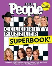 Celebrity Puzzler Superbook! by People Magazine Editors (2009, Paperback)