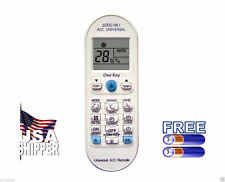 Universal A/C Remote Control Fits Samsung, Carrier, Sanyo, Haier, Fujitsu,more