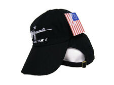 Black Machine Gun Rights M4 Come and Take it Baseball Style Cap Hat