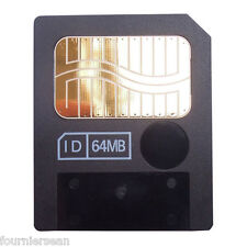 64 MB MEG SMART MEDIA SM MEMORY CARD OLYMPUS C-3040 3100 4000 40 ZOOM CAMERA T3