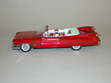 1959 CADILLAC SERIES 62 RED  CONVERTIBLE DANBURY MINT MINT 1:24 DIECAST & BOX