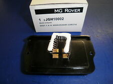 MG Rover, Rover 200, 25 and MG ZR Resistor pack-speed ***JGH10002***
