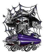 #1087 Low Life Poster Lowrider 24x36