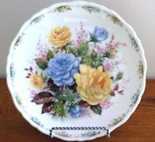 """Blue Moon"" Plate by Royal Albert, The Rose Garden Collection  1990"