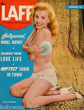 MARILYN MONROE on cover of LAFF MAGAZINE * 11x14 Cover Print * February 1950
