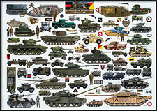 Citadel Jigsaw    British Army armoured fighting vehicles  jigsaw puzzle