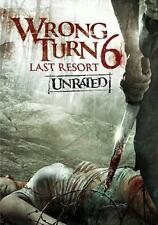 WRONG TURN 6 - LAST RESORT -UNRATED WIDESCREEN EDITION -BONUS - ALL BLOODY KILLS