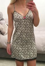 Topshop Ditsy Print Satin Nightie Nightgown Size 8