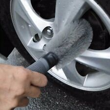 Car Wheel Cleaning Brush Tool Tire Washing Tyre Alloy Soft Bristle Cleaner