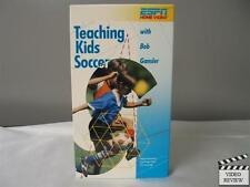 Teaching Kids Soccer with Bob Gransler VHS ESPN Home Video