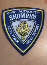 PORT AUTORTY OF NY/NJ SHOMRIM SOCIETY PATCH  PAPD  not  NYPD