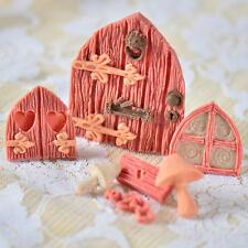 3D Fairy House Door Silicone Mould Fondant Chocolate Sugarcraft Cake Decor Mold