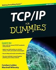 TCP/IP for Dummies by Marshall Wilensky and Candace Leiden (2009, Paperback)