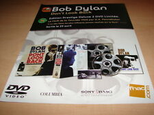 BOB DYLAN - DON'T LOOK BACK!!!!!!!!! PUBLICITE / ADVERT